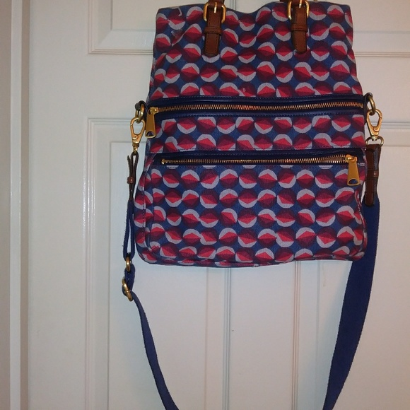 Fossil Handbags - Fossil explorer multicolored purse. Cross body.
